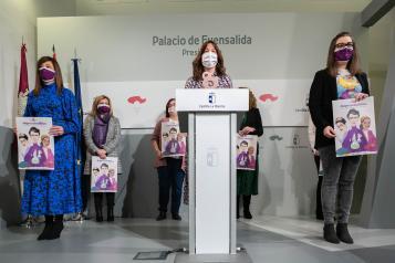 Presentación de la campaña y los actos con motivo del Día Internacional de las Mujeres