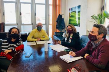 Reunión Dirección General de Agricultura y Ganadería y Delegación provincial