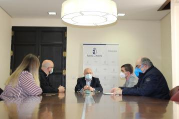 Reunión JCCM y Juntas de Cofradías Semana Santa Albacete