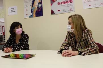 Reunión de la Delegación de Igualdad y la Asociación de Periodistas de Albacete