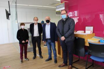Visita Oficina de Empleo de Almansa