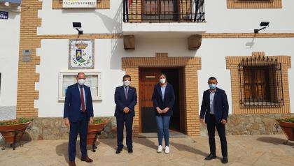 La colaboración del Gobierno regional y el Ayuntamiento de Azután mejora el abastecimiento de agua del municipio con un nuevo pozo