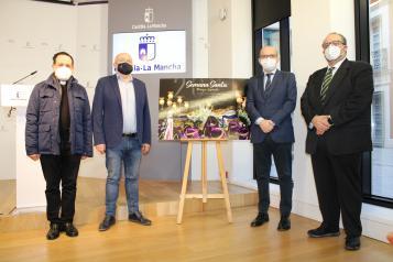 Presentación del cartel de la Semana Santa de Pozo Cañada