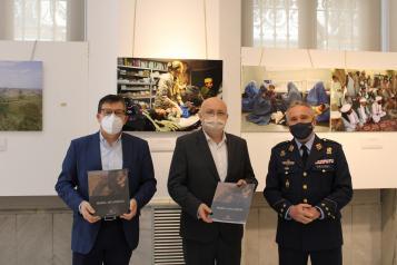"""Apertura de la exposición """"Misión:Afganistán"""" en el Archivo Provincial de Albacete"""