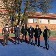 Visita centros educativos de Ossa de Montiel