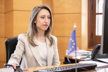 La directora general de Asuntos Europeos, Virginia Marco, participa en la 143º sesión plenaria del Comité de las Regiones de la Unión Europea