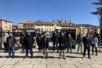 Inauguración exposición ´El Paseo de los Artesanos´ en Molina de Aragón