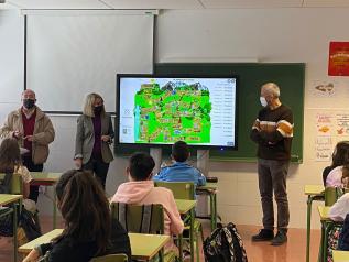 Jornadas sobre los bosques en centros educativos
