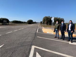 Actuación de mejora en la intersección CM-320 en Povedilla