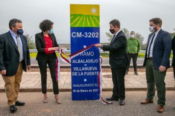 REHABILITACIÓN DE LA CARRETERA CM-3202, ENTRE LAS LOCALIDADES DE ALBALADEJO Y VILLANUEVA DE LA FUENTE.