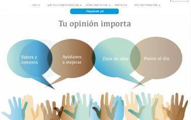 El Portal de Participación de Castilla-La Mancha alcanza los seis meses de andadura con más de 22.700 visitas