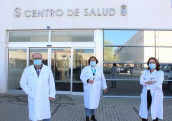 Profesionales de Farmacia de Atención Primaria de la GAI de Albacete.
