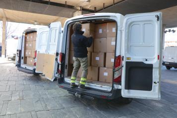 El Gobierno de Castilla-La Mancha ha distribuido más de medio millón de artículos de protección para profesionales sanitarios en las dos últimas semanas