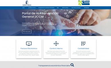 El Gobierno regional actualiza el portal de la Intervención General de la Junta con un diseño más moderno y accesible