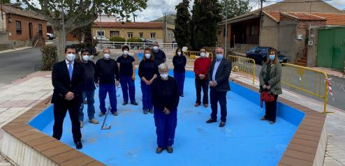 El Gobierno regional destaca los trabajos de mantenimiento, conservación y rehabilitación de edificios públicos en Portillo y Pulgar
