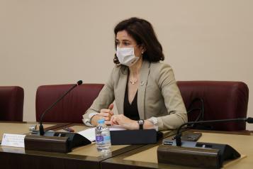 La viceconsejera de Empleo, Diálogo Social y Bienestar Laboral, Nuria Chust, ha participado en el Foro de Empleo y Emprendimiento de Albacete.