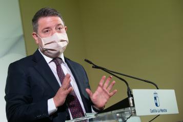 Emiliano García-Page participa en la firma de ´Impulsa Guadalajara´