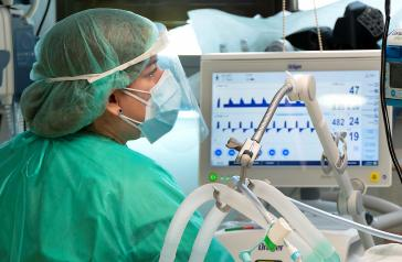 Descienden los casos y hospitalizados por COVID-19 en Castilla-La Mancha