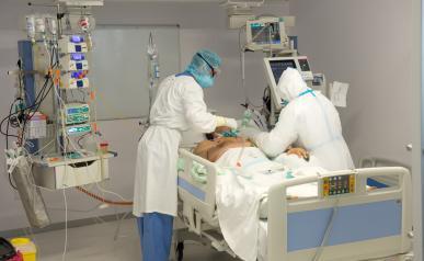 Se estabilizan los hospitalizados por COVID-19 en Castilla-La Mancha