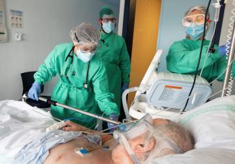 Continúa la estabilización de hospitalizados por coronavirus en Castilla-La Mancha