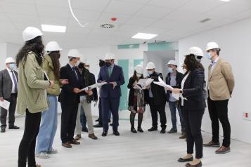 Las obras de adaptación del nuevo local de Consultas Externas de Albacete encaran su recta final