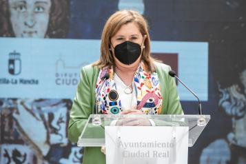 Inauguración de la exposición conmemorativa del VI centenario de Ciudad Real (Educación)