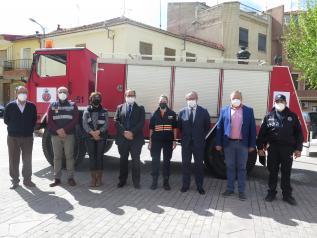 El Gobierno regional apoya a los ayuntamientos en la dotación de medios materiales para las agrupaciones de Protección Civil
