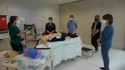 El Hospital Universitario de Toledo acoge los cursos de reanimación cardiopulmonar avanzados para personal sanitario