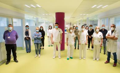 El Hospital de Día médico recibe a sus primeros pacientes en las nuevas instalaciones del Hospital Universitario de Toledo