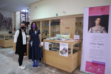 El Gobierno regional da a conocer el Centro de Documentación y Biblioteca 'Luisa Sigea' entre la comunidad universitaria