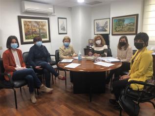 Reunión Bienestar Social y AECC