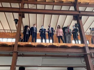 El Gobierno regional licitará la redacción del proyecto del Fuerte de San Francisco para dedicar dos naves a una biblioteca y escuela municipal