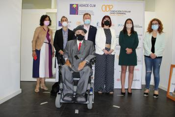 La consejera de Bienestar Social asiste a la inauguración del nuevo centro de ADACE, en Albacete