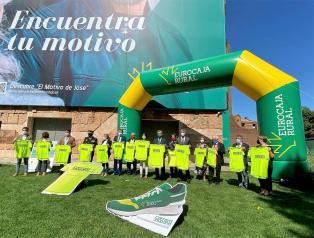 La consejera de Bienestar Social, Bárbara García Torijano, asiste a la presentación de la IX edición de la 'Carrera Solidaria' promovida por la Fundación Eurocaja Rural en colaboración con el Cuerpo Nacional de Policía en Toledo.