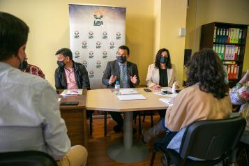 El consejero de Agricultura, Agua y Desarrollo Rural, Francisco Martínez Arroyo, ha participado en el Comité Regional de la Unión de Pequeños Agricultores y Ganaderos (UPA).
