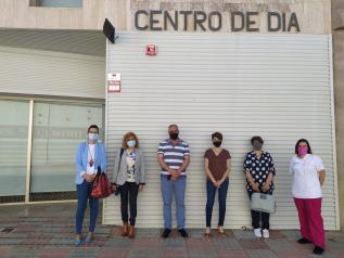 Reunión Delegación provincial de Bienestar Social y Ayuntamiento de Munera
