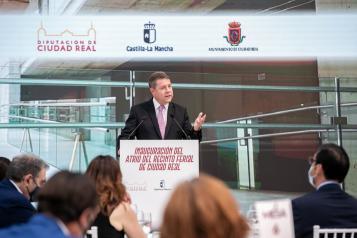 García-Page anuncia que Ciudad Real contará con un  nuevo Centro de Salud y el inicio inminente de las obras en los colegios 'Ángel Andrade' y 'Dulcinea del Toboso'