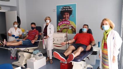 Castilla-La Mancha celebra el Día Mundial del Donante de Sangre con 34.000 donaciones en los primeros cinco meses del año