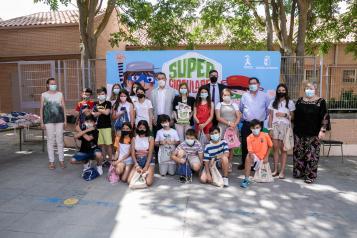 El Gobierno de Castilla-La Mancha entrega el premio 'Supercirculares 2021' al Colegio Público Gregorio Marañón de Toledo con su trabajo 'Jardin vertical en el aula'