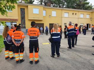 Un total de 80 integrantes de agrupaciones de Protección Civil participan durante el fin de semana en cursos formativos para perfeccionar el desarrollo de sus funciones