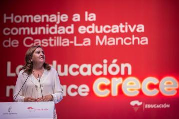 Homenaje a la comunidad educativa de Castilla-la Mancha (Educación)