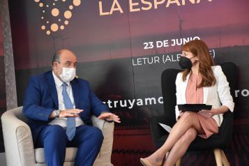 El vicepresidente de Castilla-La Mancha, José Luís Martínez Guijarro, participa en el FORO 'La España Vaciada' organizado por Cadena SER