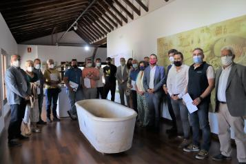 El consejero de Agricultura, Agua y Desarrollo Rural, Francisco Martínez Arroyo, clausura  el curso de verano 'Tratamiento sostenible de aguas residuales para pequeñas aglomeraciones urbanas'