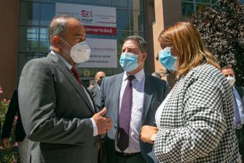 El presidente de Castilla-La Mancha ha avanzado que Talavera contará con un centro de salud totalmente nuevo en el centro de la ciudad
