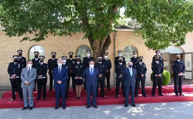 Acto de clausura del XXX Curso Básico de Oficiales de Policía Local