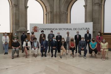La consejera de Educación, Cultura y Deportes, Rosa Ana Rodríguez, participa en la Conferencia Sectorial de Cultura y Deporte
