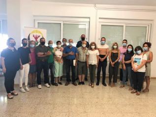 Visita proyectos de inclusión social en Letur