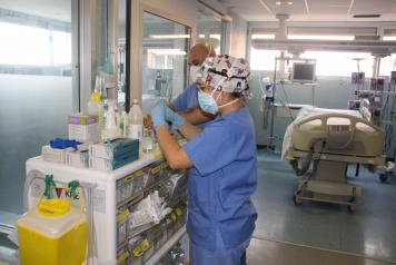 Se mantiene estable el número de pacientes ingresados por Covid-19 en las Unidades de Cuidados Intensivos