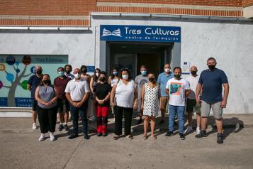 La directora general de Formación Profesional para el Empleo, Marta Roldán, visita las instalaciones del centro de formación 'Yuncos-Tres Culturas'.
