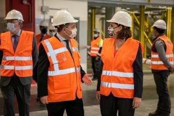 Las exportaciones en Castilla-La Mancha muestran un crecimiento del 41,4 por ciento en junio respecto al año pasado